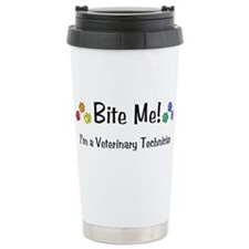 Bite Me Vet Tech - Travel Mug