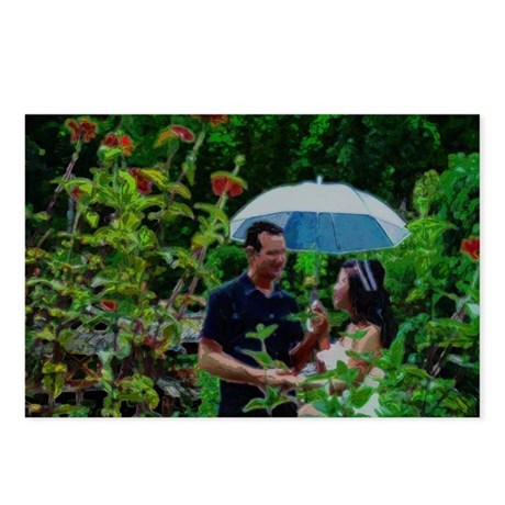 Couple in Paradise Postcards (Package of 8)