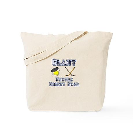 Grant - Future Hockey Star Tote Bag