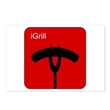 iGrill Red Postcards (Package of 8)
