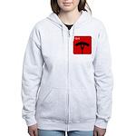 iGrill Red Women's Zip Hoodie