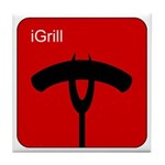 iGrill Red Tile Coaster