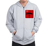 iGrill Red Zip Hoodie