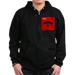 iGrill Red Zip Hoodie (dark)