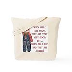 Timeout Girl Tote Bag