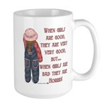 Timeout Girl Large Mug