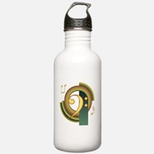 Bass Clef Deco Water Bottle