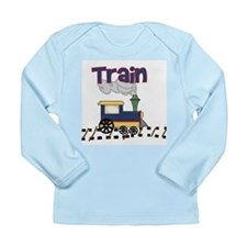 Train Long Sleeve Infant T-Shirt