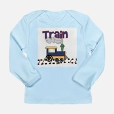 Train Long Sleeve Infant T-Shirt