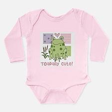Toadally Cool Long Sleeve Infant Bodysuit