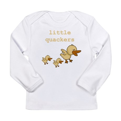 Little Quackers Long Sleeve Infant T-Shirt