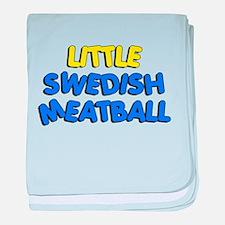 Little Swedish Meatball baby blanket