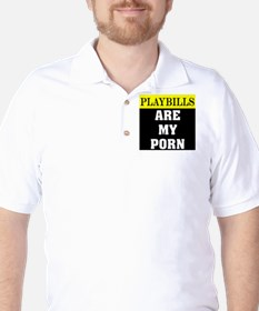 Playbills Are My Porn T-Shirt