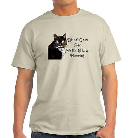 Blind Cats See Light T-Shirt