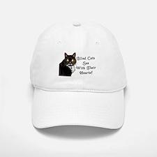 Blind Cats See Baseball Baseball Cap