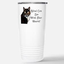 Blind Cats See Travel Mug