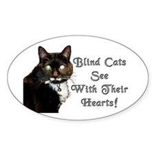 Blind Cats See Decal