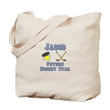 Jacob - Future Hockey Star Tote Bag
