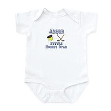 Jacob - Future Hockey Star Infant Bodysuit