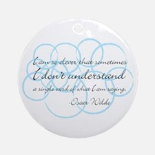 Clever Ornament (Round)