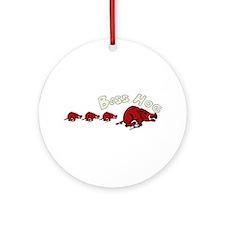 Boss Hog Ornament (Round)