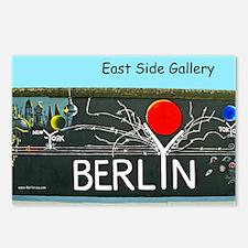 New York Berlin Tokyo Postcards (Package of 8)