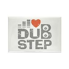 I Love Dubstep Rectangle Magnet