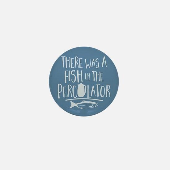 Twin Peaks Fish In Percolator Mini Button