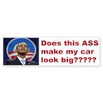 Does this ASS make my car loo Sticker (Bumper)