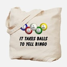 Balls to Bingo Tote Bag