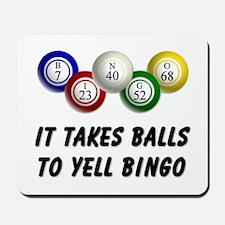 Balls to Bingo Mousepad