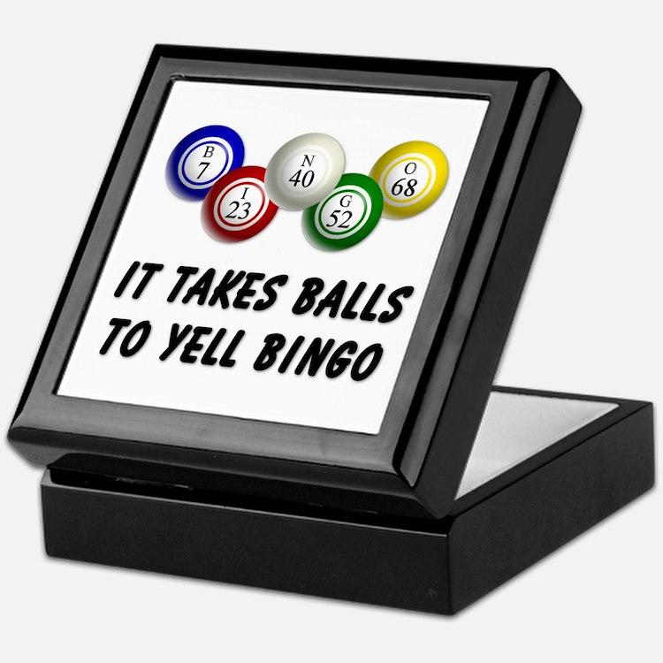 Balls to Bingo Keepsake Box