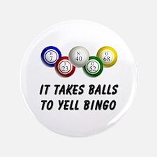 "Balls to Bingo 3.5"" Button"