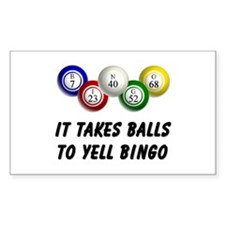 Balls to Bingo Decal