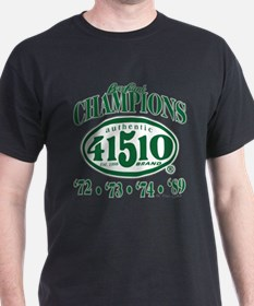 41510 Green & Gold Champs #1 | Fitted-T Men