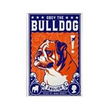 Bulldog magnet Single