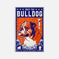 Obey the English Bulldog! Propaganda Magnet