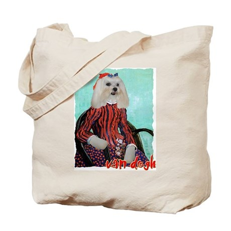 Maltese VAN GOGH Tote Bag