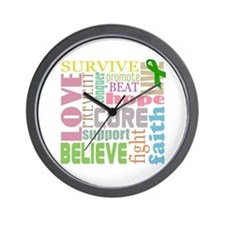Brain Injury Awareness Wall Clock