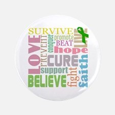 "Brain Injury Awareness 3.5"" Button"