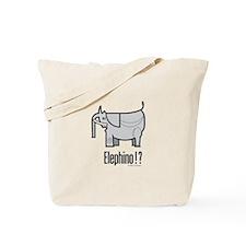 Elephino Tote Bag