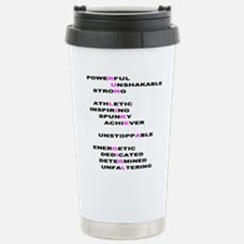 Run Like a Girl Travel Mug