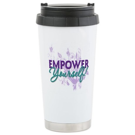 Empower Yourself Stainless Steel Travel Mug