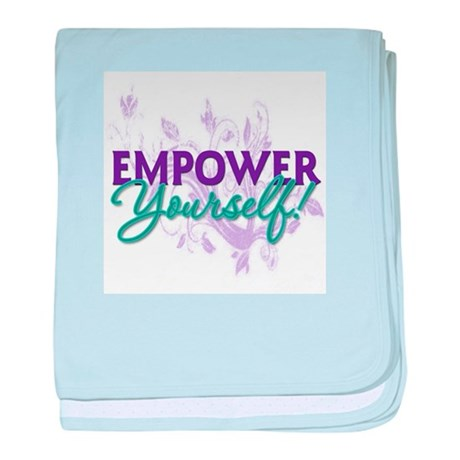 Empower Yourself baby blanket