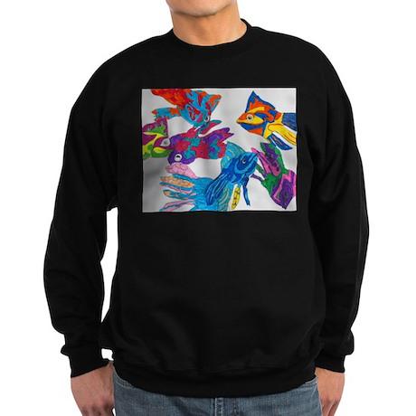 Anastasia's Fish Sweatshirt (dark)