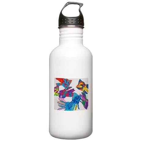 Anastasia's Fish Stainless Water Bottle 1.0L