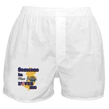 Someone in new jersey loves me Boxer Shorts