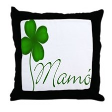 Grandma's Shamrock Throw Pillow