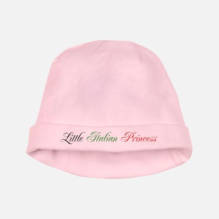Little Italian Princess baby hat