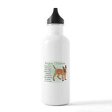 Belgian Malinois Water Bottle